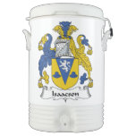 Isaacson Family Crest Igloo Beverage Cooler