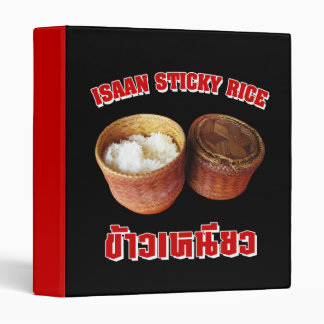 Isaan Sticky Rice [Khao Niao] 3 Ring Binder