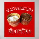 Isaan Sticky Rice [Khao Niao] Print