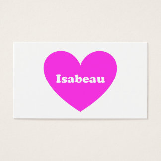 Isabeau Business Card