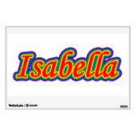 Isabel - arco iris - en blanco