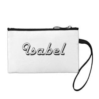 Isabel Classic Retro Name Design Change Purse