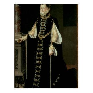 Isabel de Valois, reina de España Tarjeta Postal