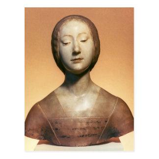 Isabel di Aragona princesa de Nápoles, 1488 Tarjeta Postal
