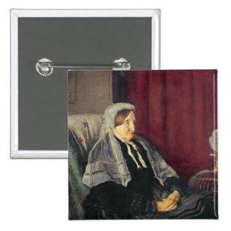 Isabel Heugh, 1872 Pin Cuadrada 5 Cm