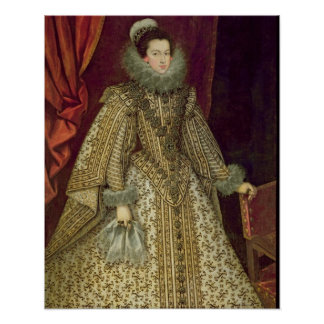 Isabel of Bourbon Poster