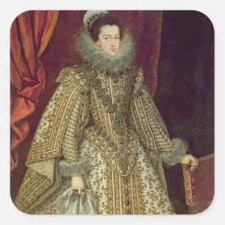 Isabel of Bourbon Square Sticker