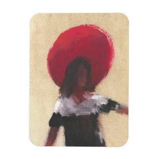 Isabel Rectangular Photo Magnet