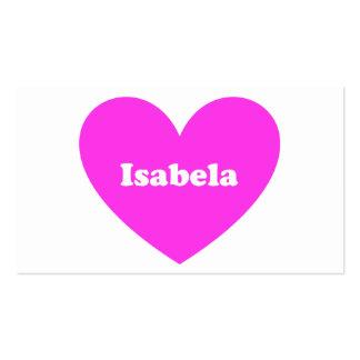 Isabela Business Card
