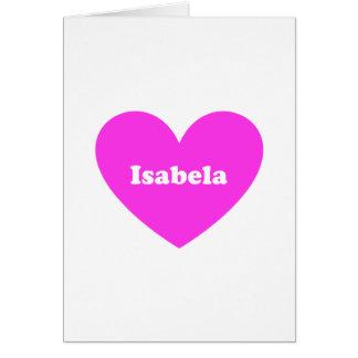 Isabela Card
