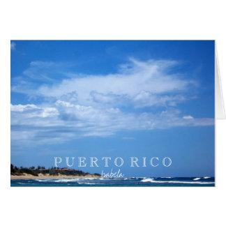 Isabela Puerto Rico Card