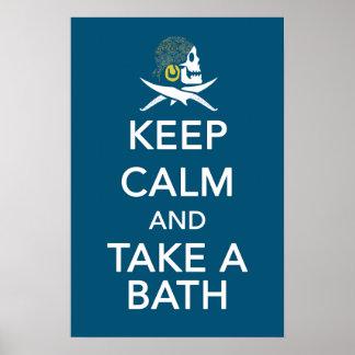 Isabela Take a Bath Print