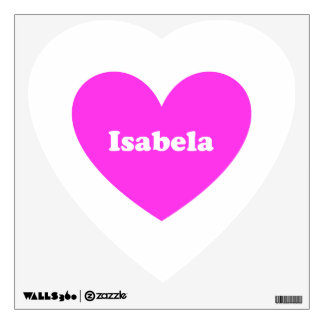 Isabela Wall Decal