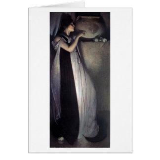 Isabella and the Pot of Basil Greeting Card