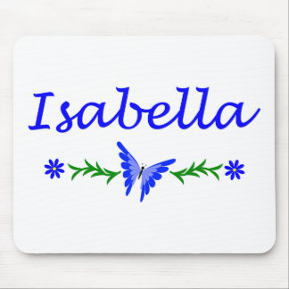Isabella (Blue Butterfly) Mouse Pad