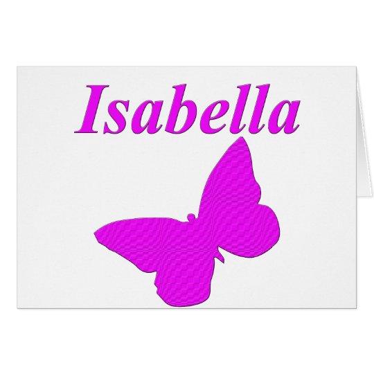 Isabella Card