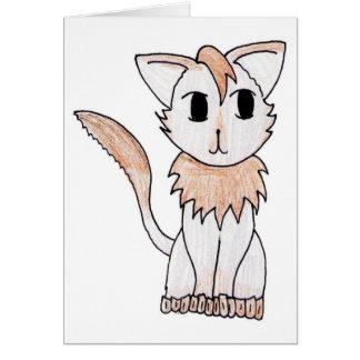 Isabella Cat Card