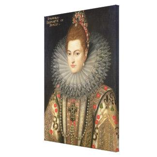 Isabella Clara Eugenia (1566-1633) Infanta of Spai Gallery Wrapped Canvas