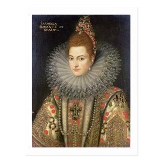 Isabella Clara Eugenia (1566-1633) Infanta of Spai Postcard