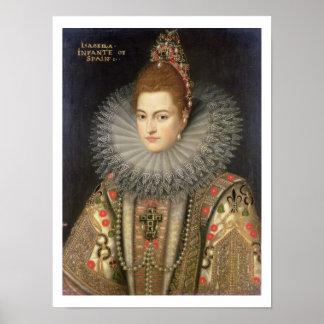 Isabella Clara Eugenia (1566-1633) Infanta of Spai Print