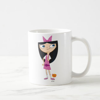 Isabella Classic White Coffee Mug