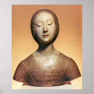 Isabella di Aragona  Princess of Naples, 1488 Poster