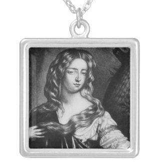 Isabella Duchess of Grafton Square Pendant Necklace