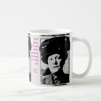 Isabella Goodwin, the 1st woman detective Classic White Coffee Mug