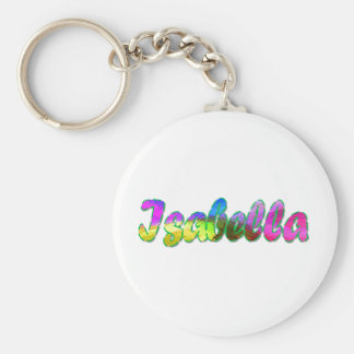 Isabella key chain