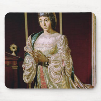 Isabella of Castile  in Prayer, 1520-22 Mouse Pad