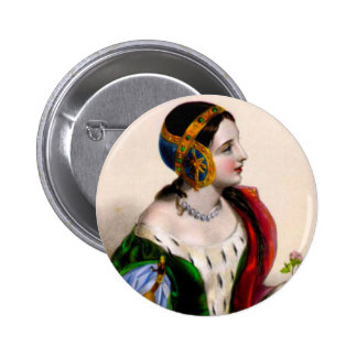 Isabella of France Button