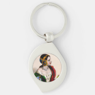 Isabella of France Keychain