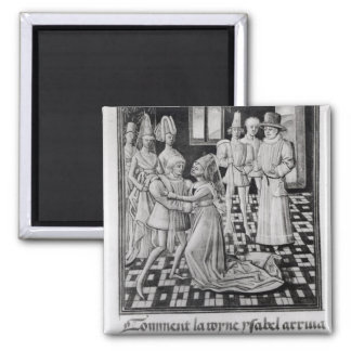 Isabella of France, Queen of England Fridge Magnets
