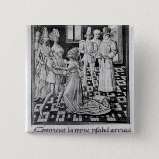 Isabella of France, Queen of England Pinback Button