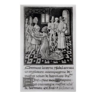 Isabella of France, Queen of England Poster