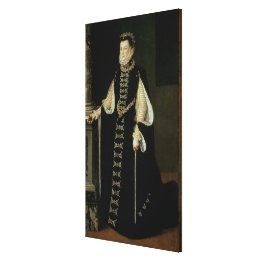 Isabella of Valois, Queen of Spain Canvas Print