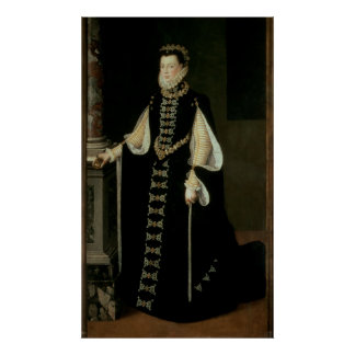 Isabella of Valois, Queen of Spain Poster