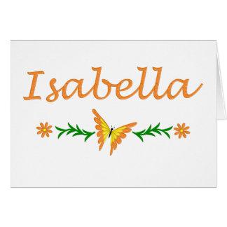 Isabella (Orange Butterfly) Card
