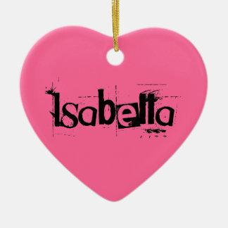 Isabella Ornament