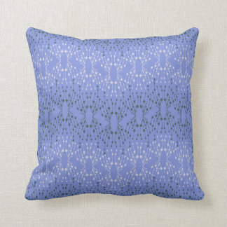 Isabella Periwinkle Throw Pillow
