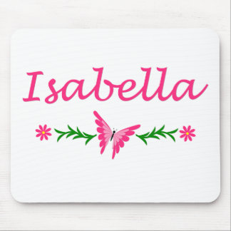 Isabella (Pink Butterfly) Mouse Pad