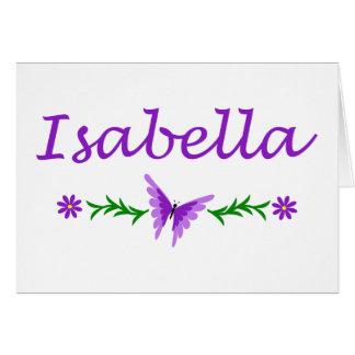 Isabella (Purple Butterfly) Card