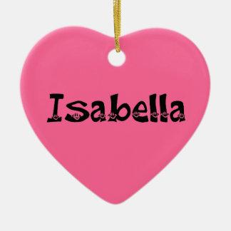 Isabella (Smiley) Ornament