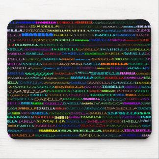 Isabella Text Design I Mousepad