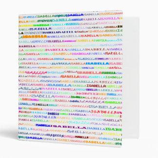 Isabella Text Design II Binder
