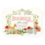 Isabella Top 100 Baby Name Girl Birth Announcement