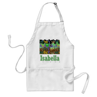 ISABELLA  - Wild Green Art from Naveen Aprons