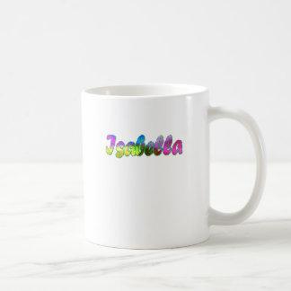 Isabella's coffee mug