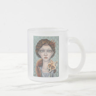 Isabelle and Ludwig Frosted Glass Coffee Mug