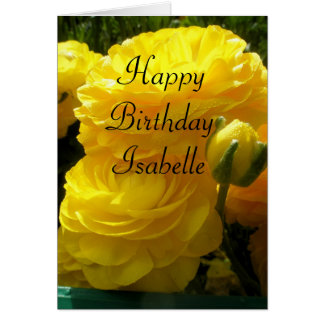 Isabelle Card